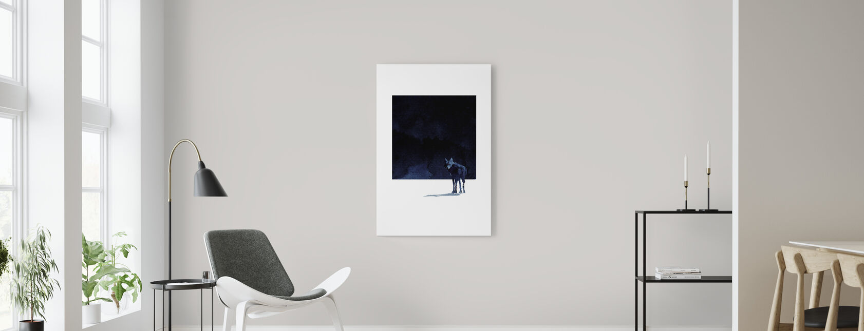 Im Going Back - Canvas print - Living Room