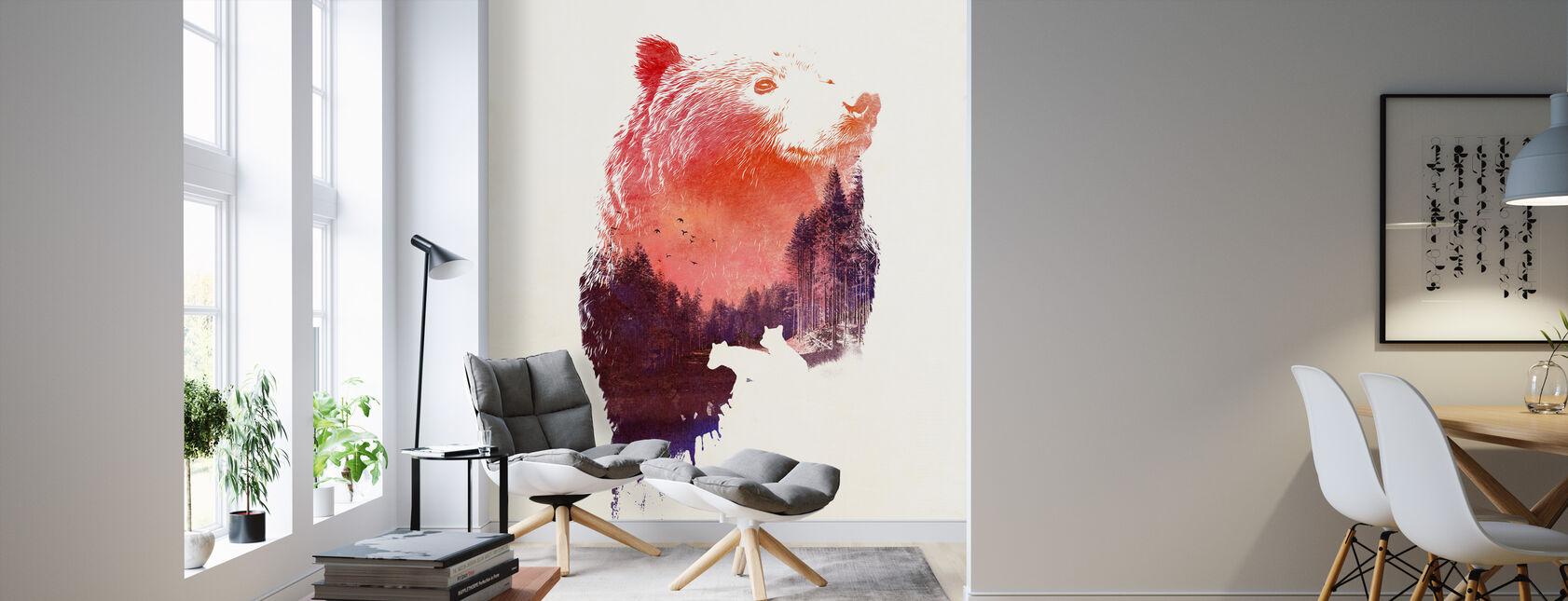 Love Forever - Wallpaper - Living Room