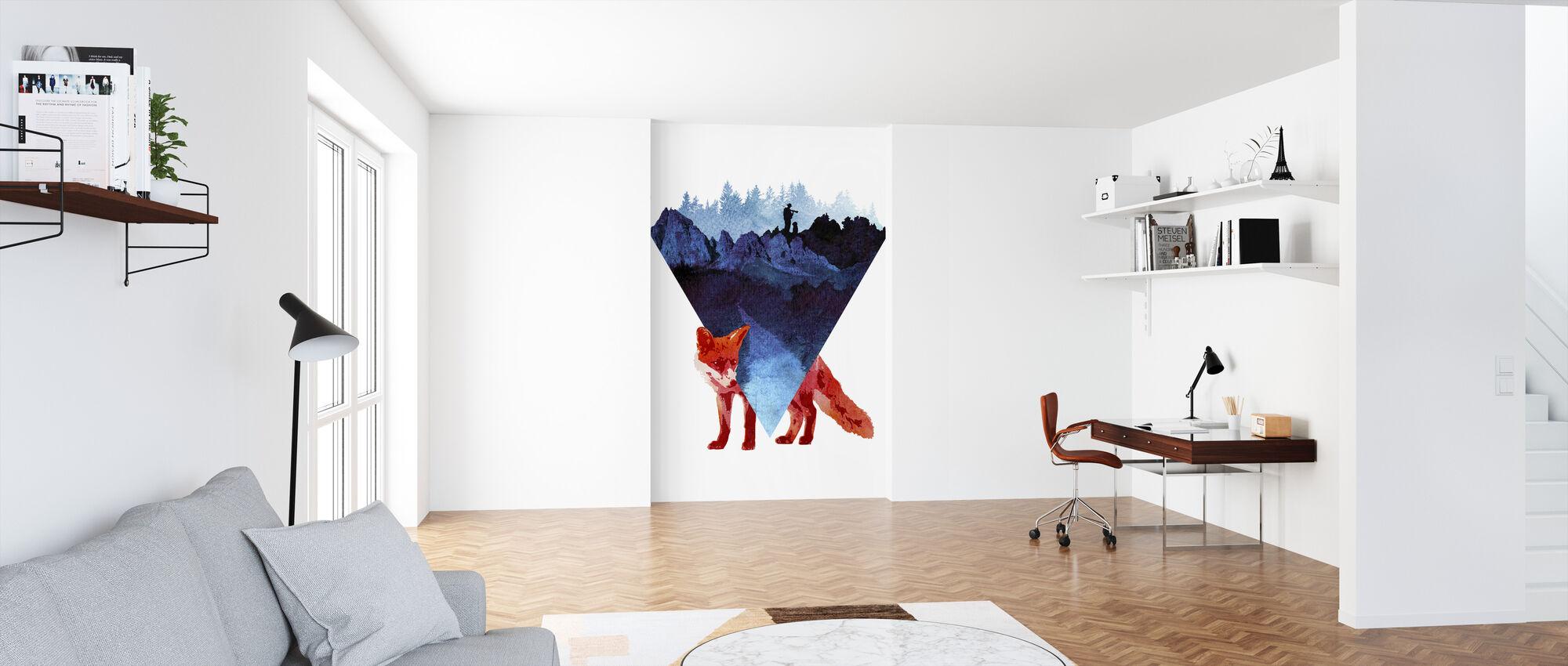 Risky Road - Wallpaper - Office