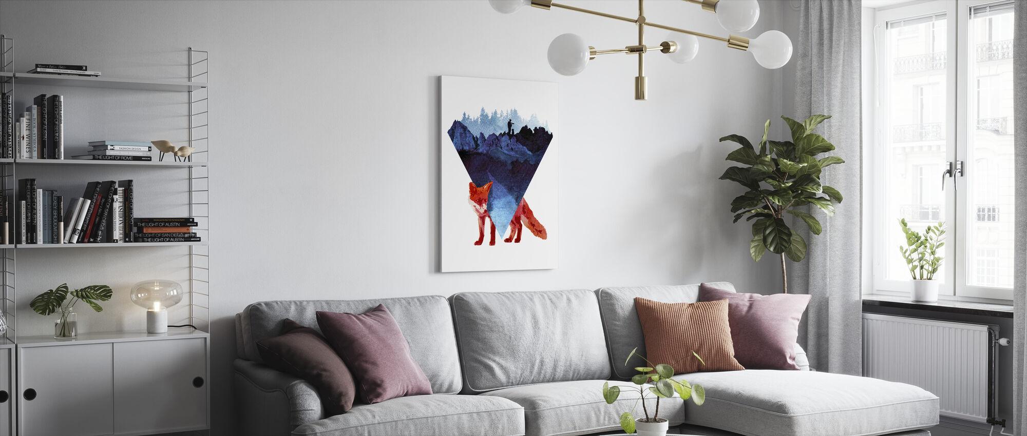 Risky Road - Canvas print - Living Room