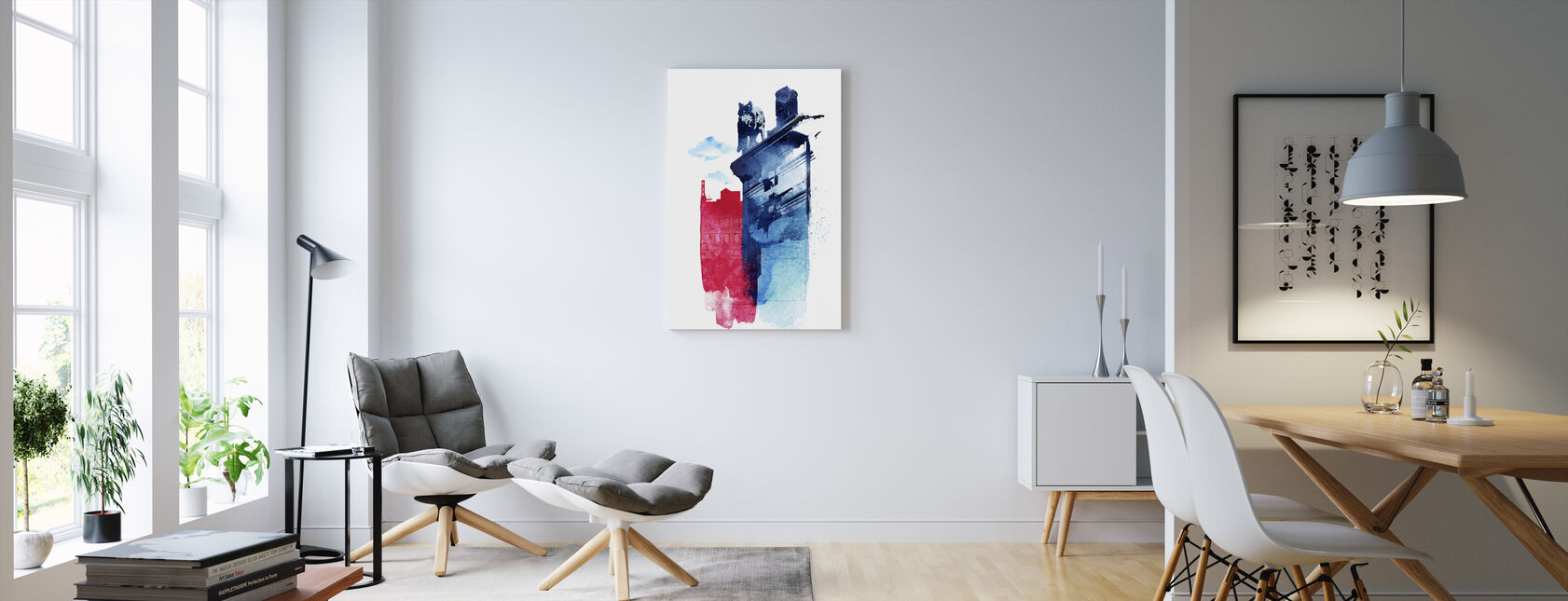 This Is My Town - Canvas print - Living Room