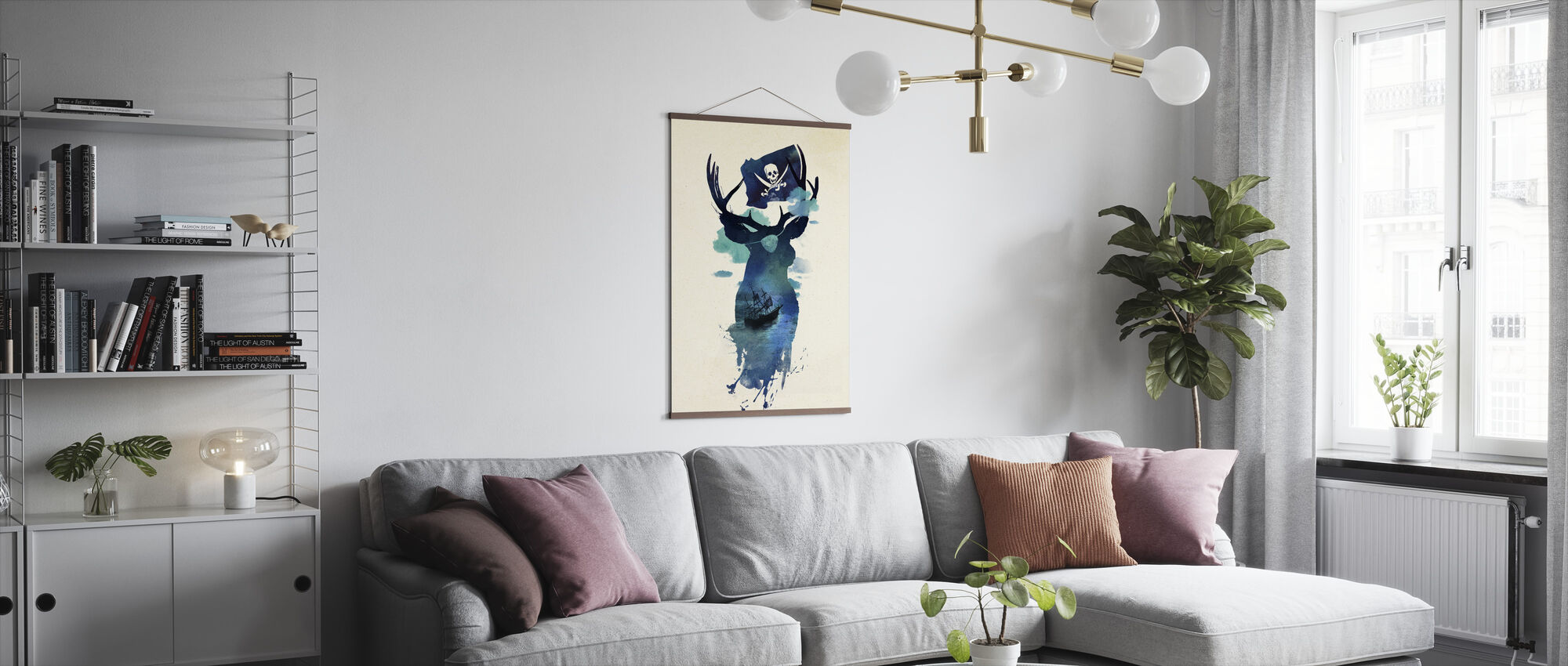 Captain Hook - Poster - Living Room