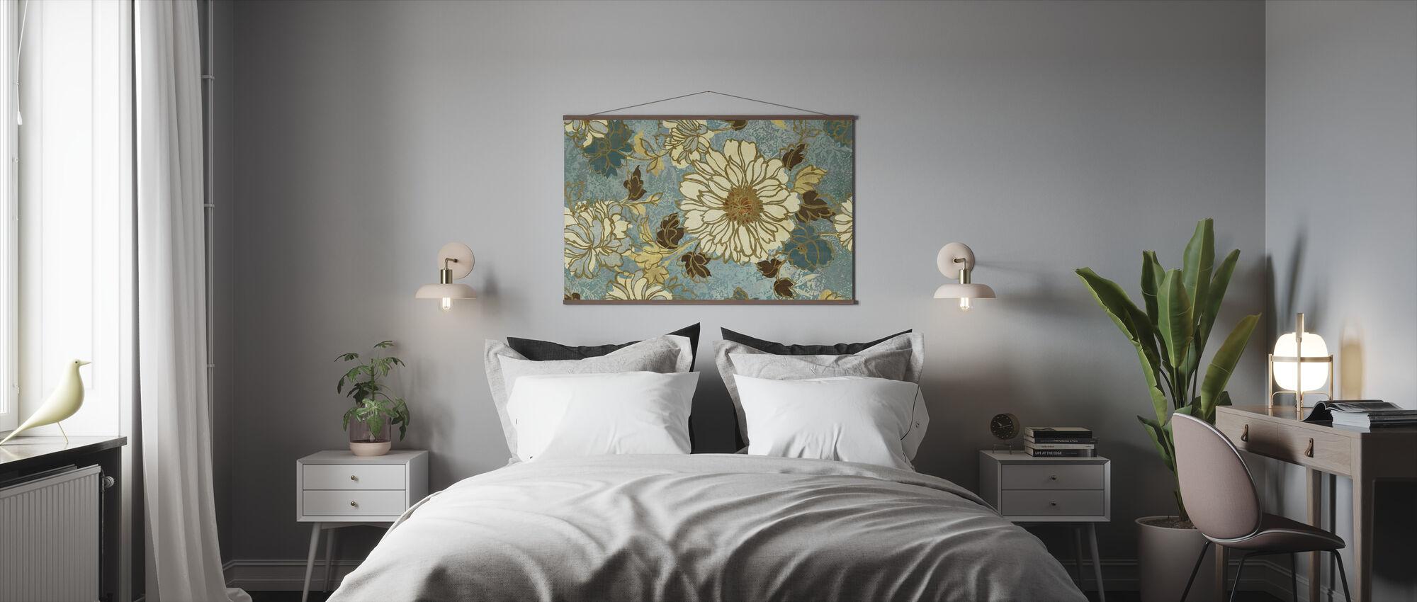 Voorjaarsreflectie - Poster - Slaapkamer