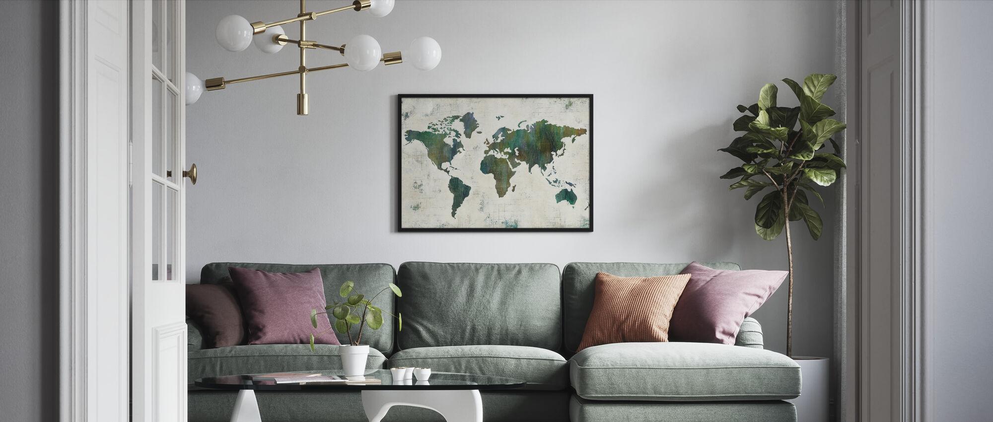 Oppdag verden - Innrammet bilde - Stue