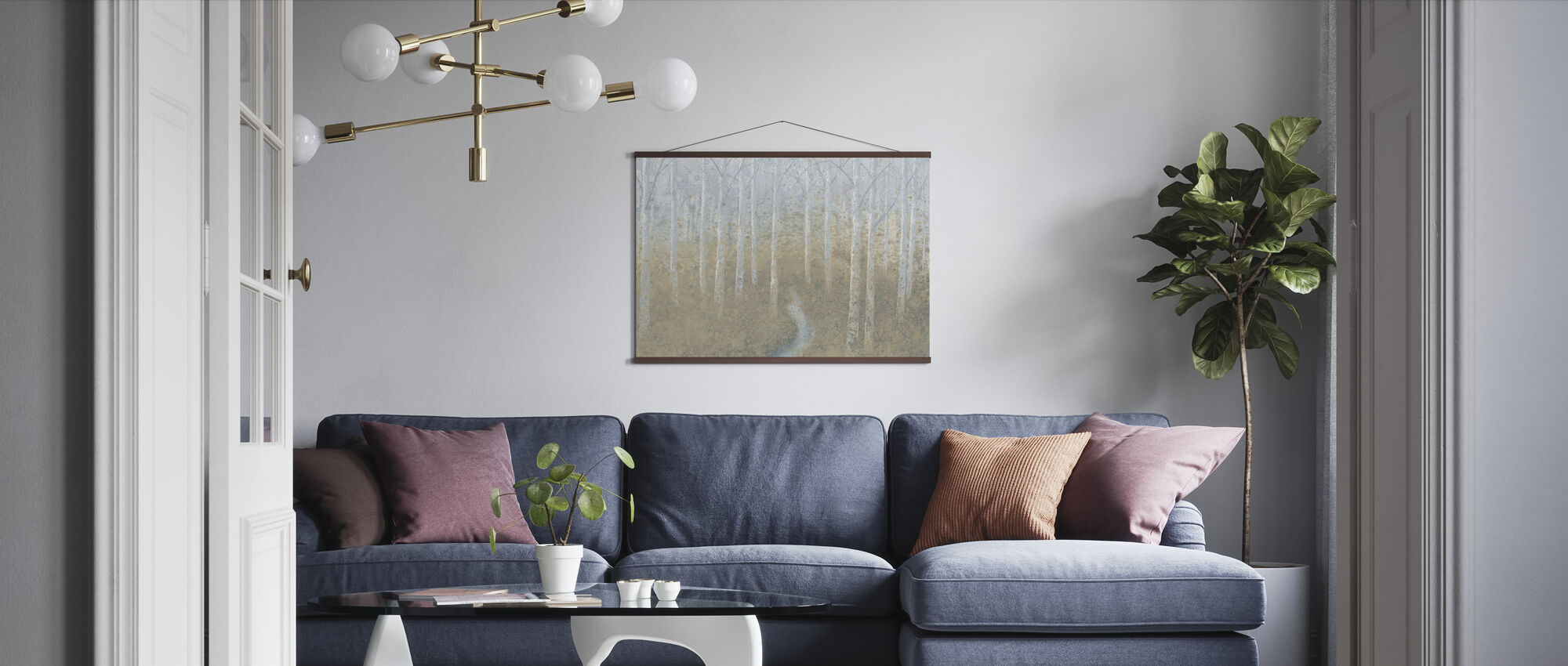 Silver Waters - Poster - Living Room
