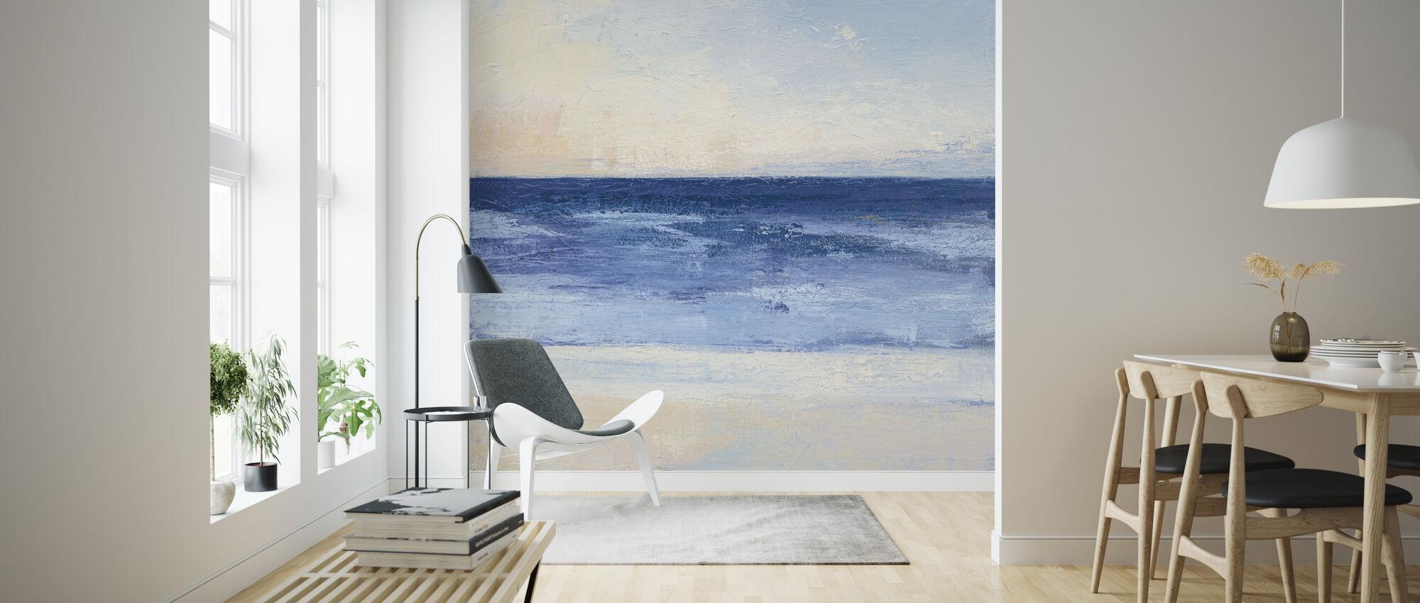 True Blue Ocean - Wallpaper - Living Room