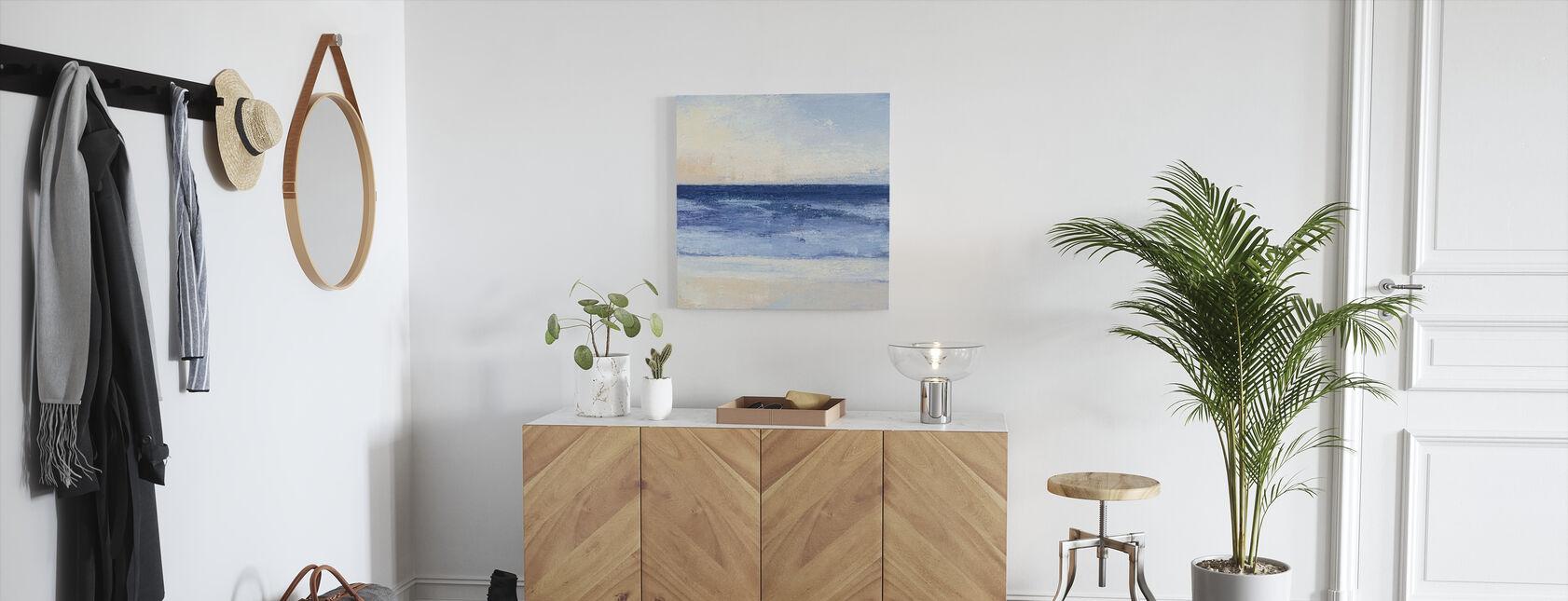 Océan bleu véritable - Impression sur toile - Entrée