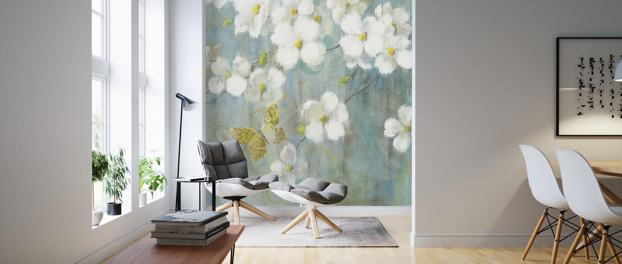 Sueño de primavera 2 - Papel pintado - Salón
