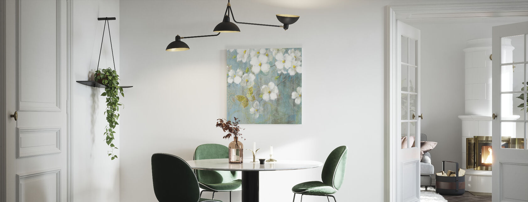 Lente droom 2 - Canvas print - Keuken