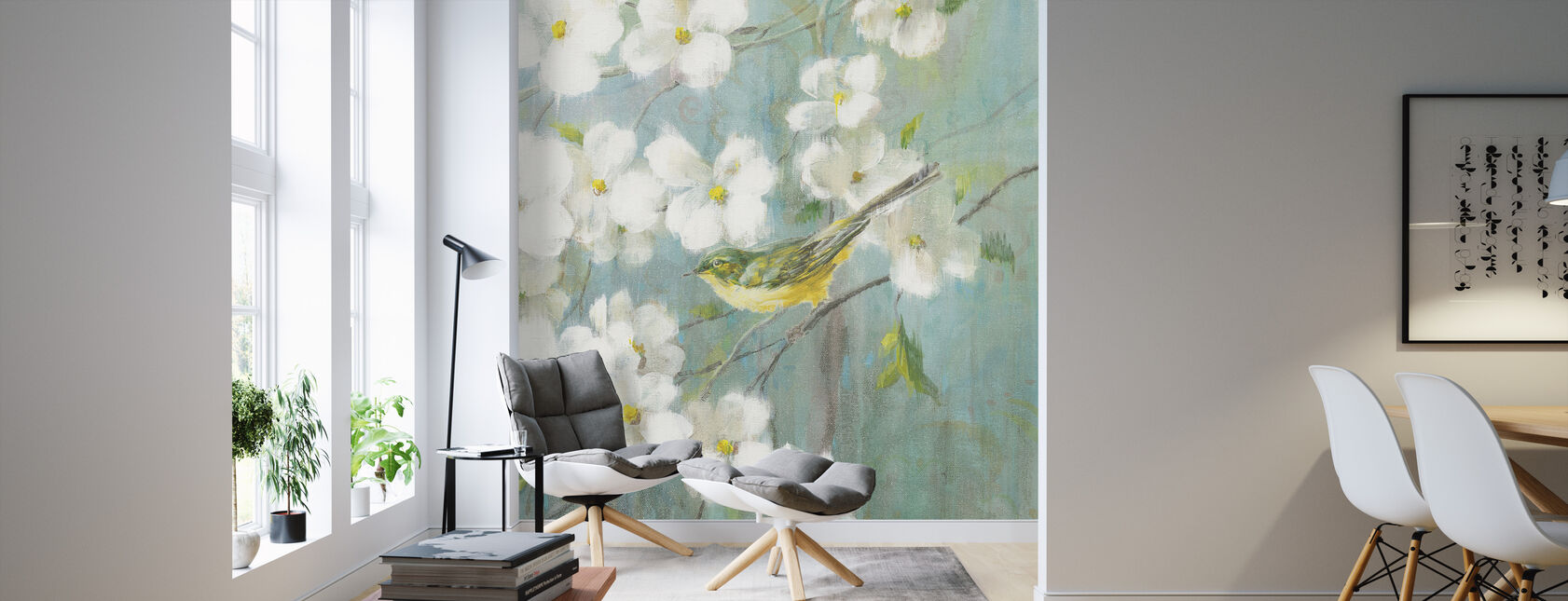Spring Dream 4 - Wallpaper - Living Room