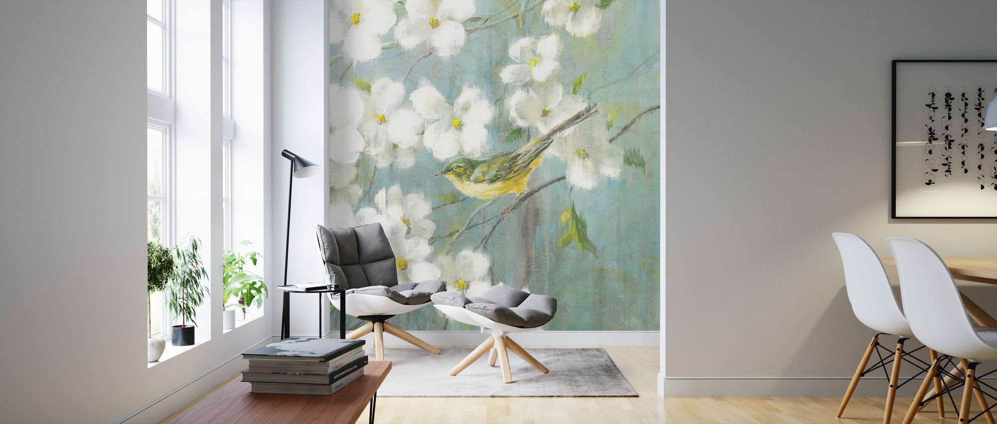 Spring Dream 4 - Wallpaper - Living Room