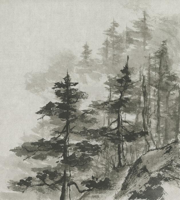 Sumi tretoppene - Lerretsbilde