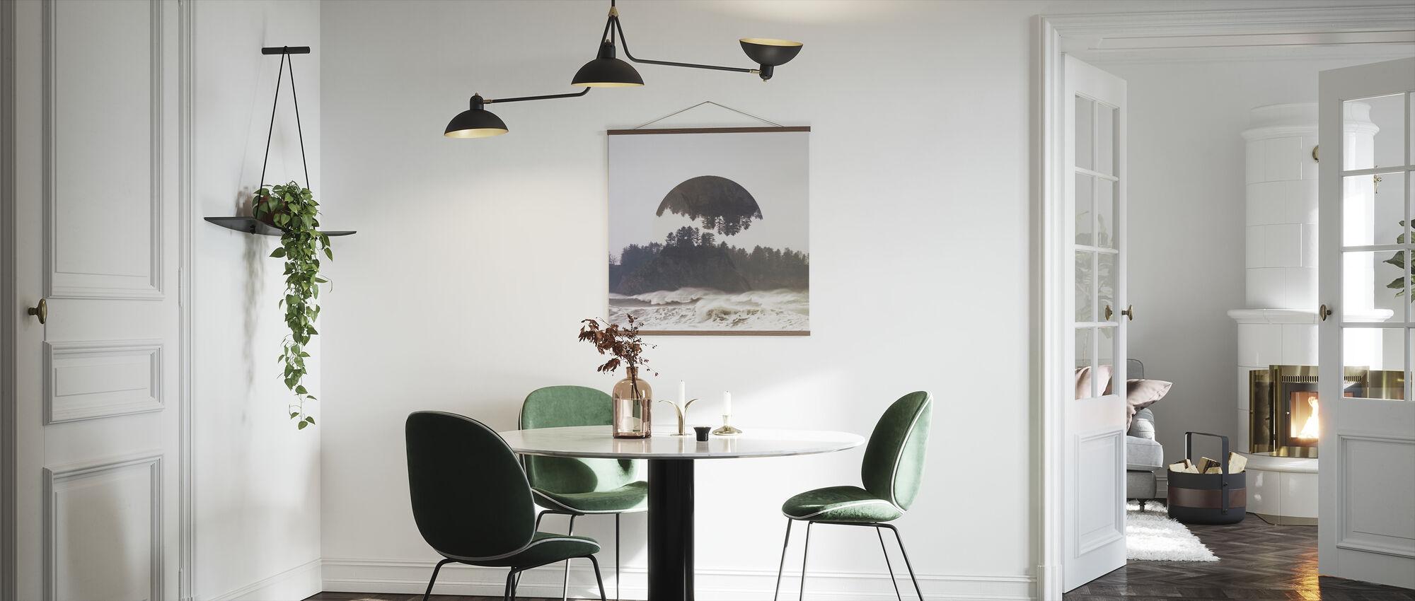 Reflected Landscape 1 - Poster - Kitchen