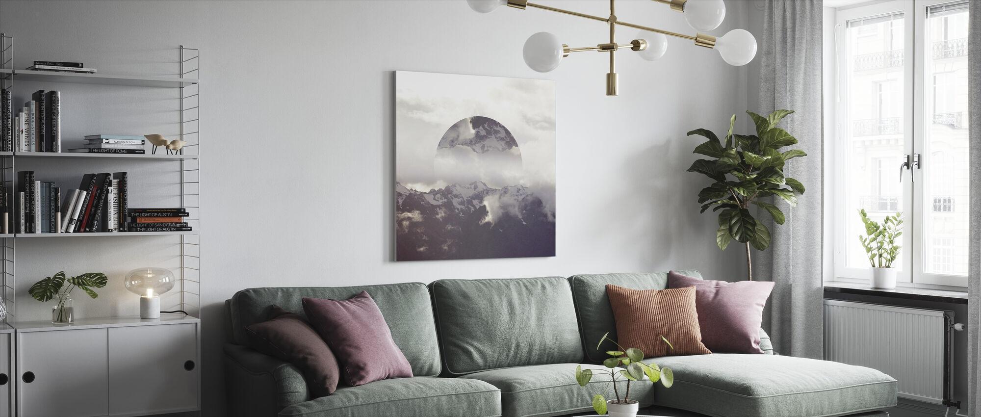 Reflected Landscape 2 - Canvas print - Living Room
