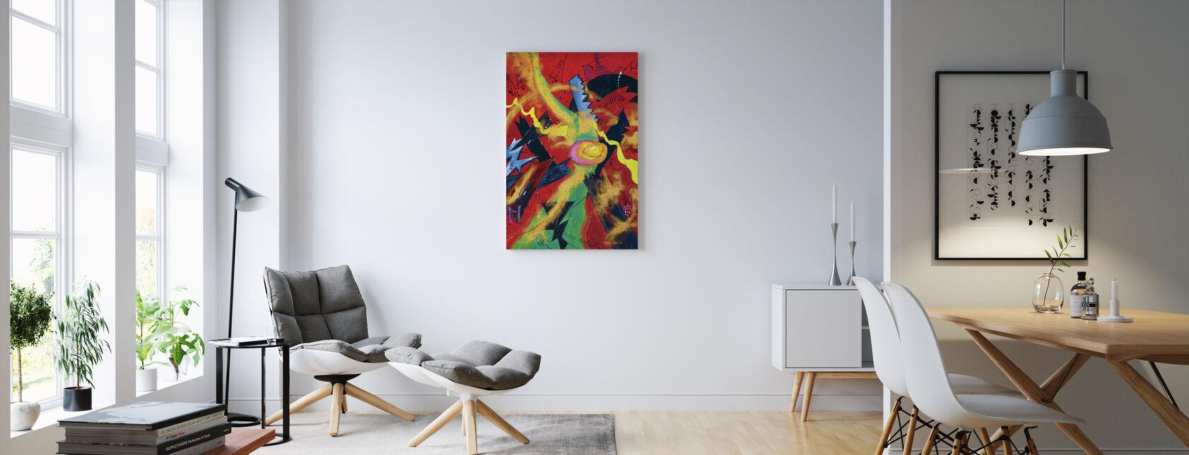 Tiener - Canvas print - Woonkamer