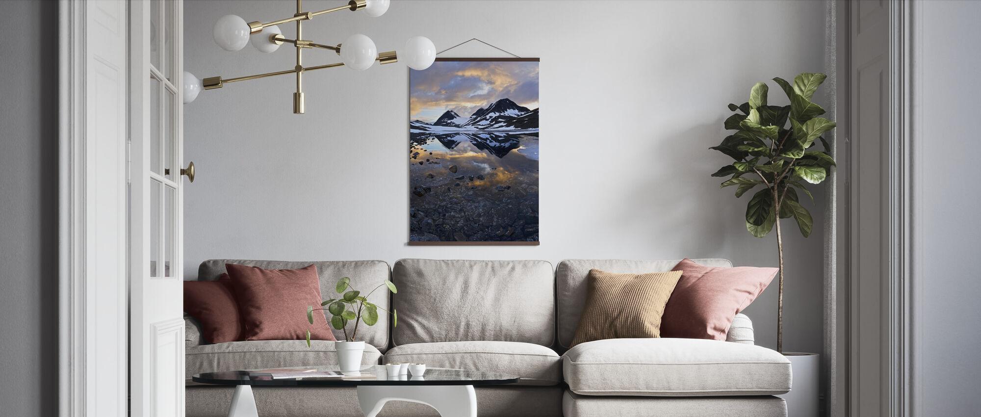 Nallojaure Landscape, Sweden - Poster - Living Room