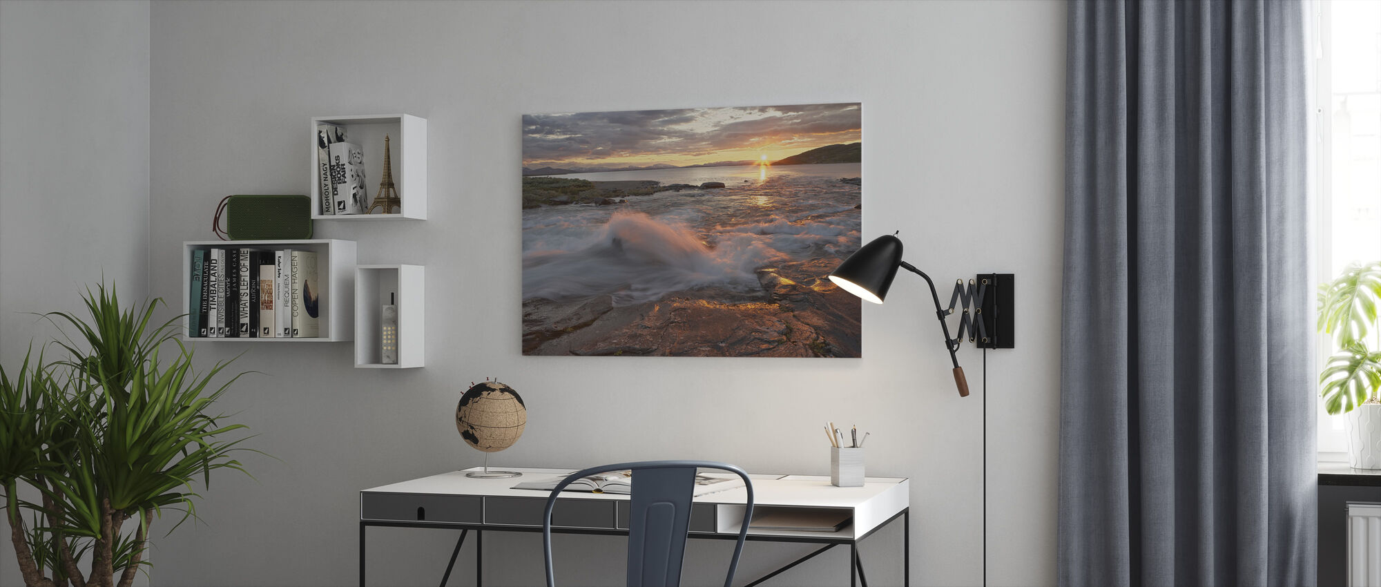 Padjelanta Archipelago, Sweden - Canvas print - Office