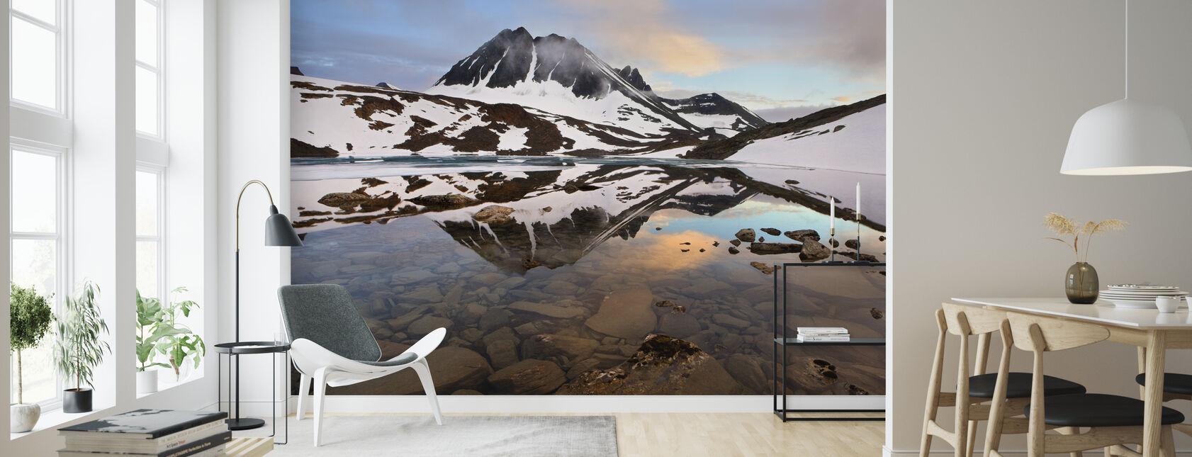 Laponii Glacial, Szwecja - Tapeta - Pokój dzienny