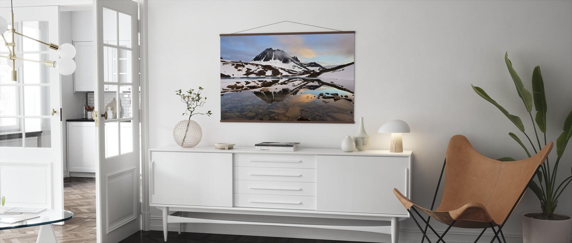 Lapland Glacial, Sweden - Poster - Living Room