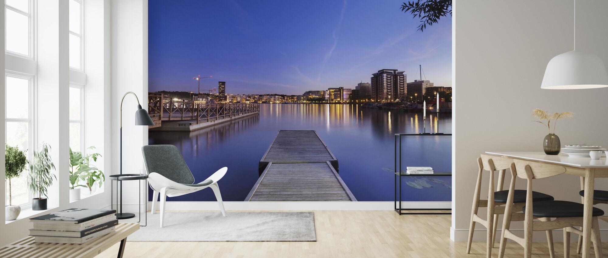 Tantogatan at Dusk - Wallpaper - Living Room