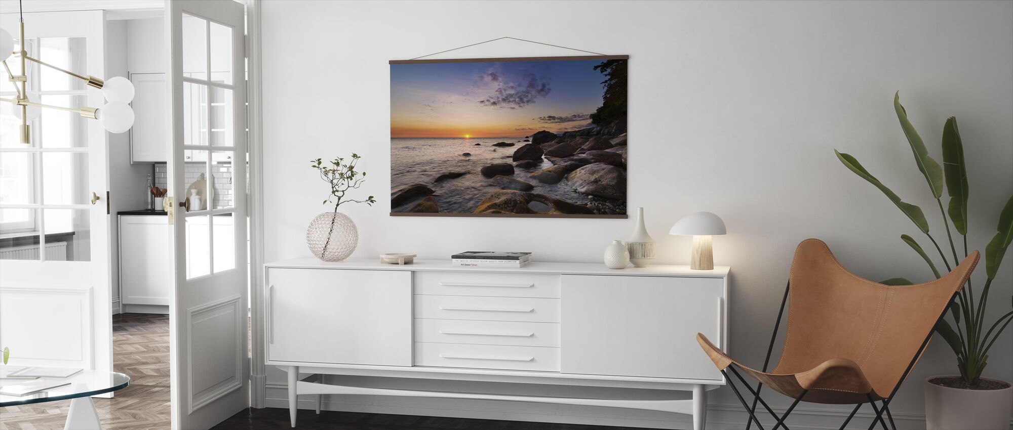 Sunset at Surigao - Poster - Living Room