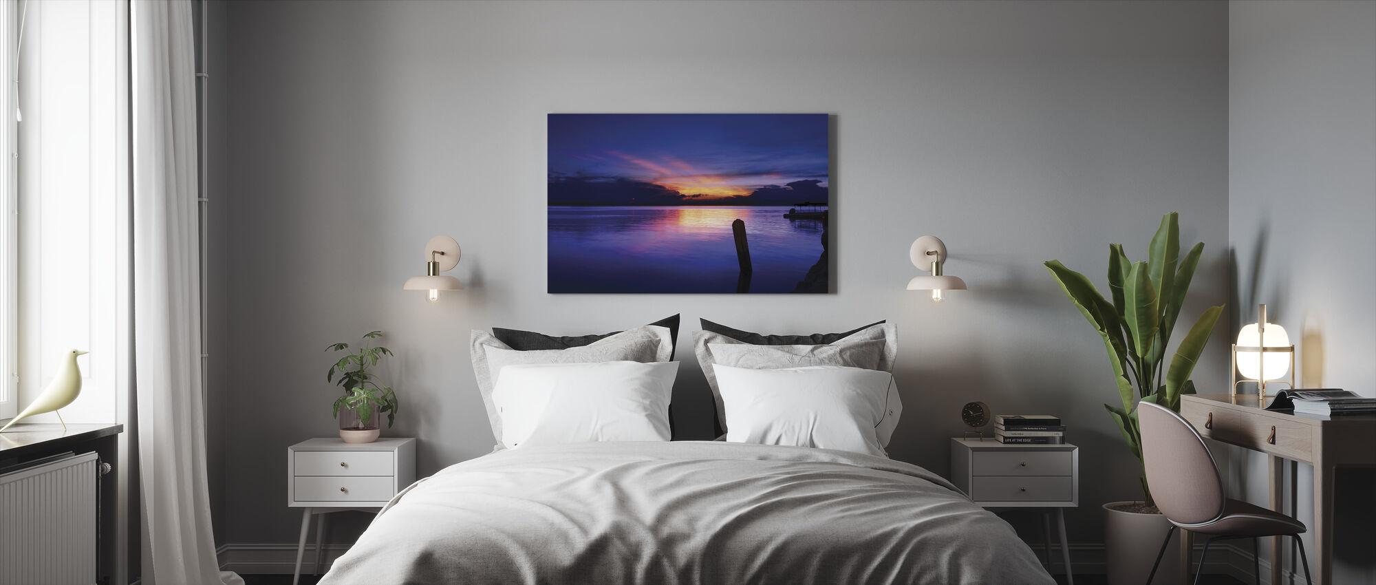 Sunrise at Sta Ana - Canvas print - Bedroom