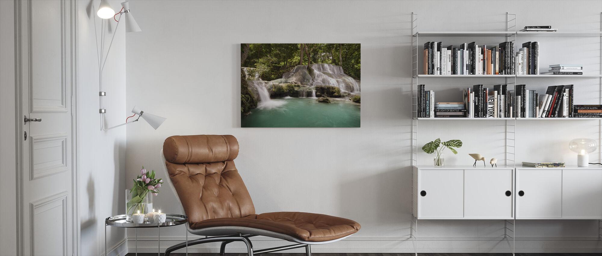 Panas Watervallen III - Canvas print - Woonkamer
