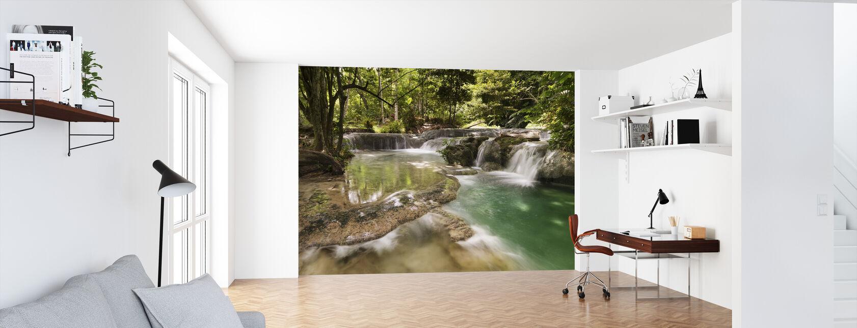 Panas Waterfalls II - Wallpaper - Office