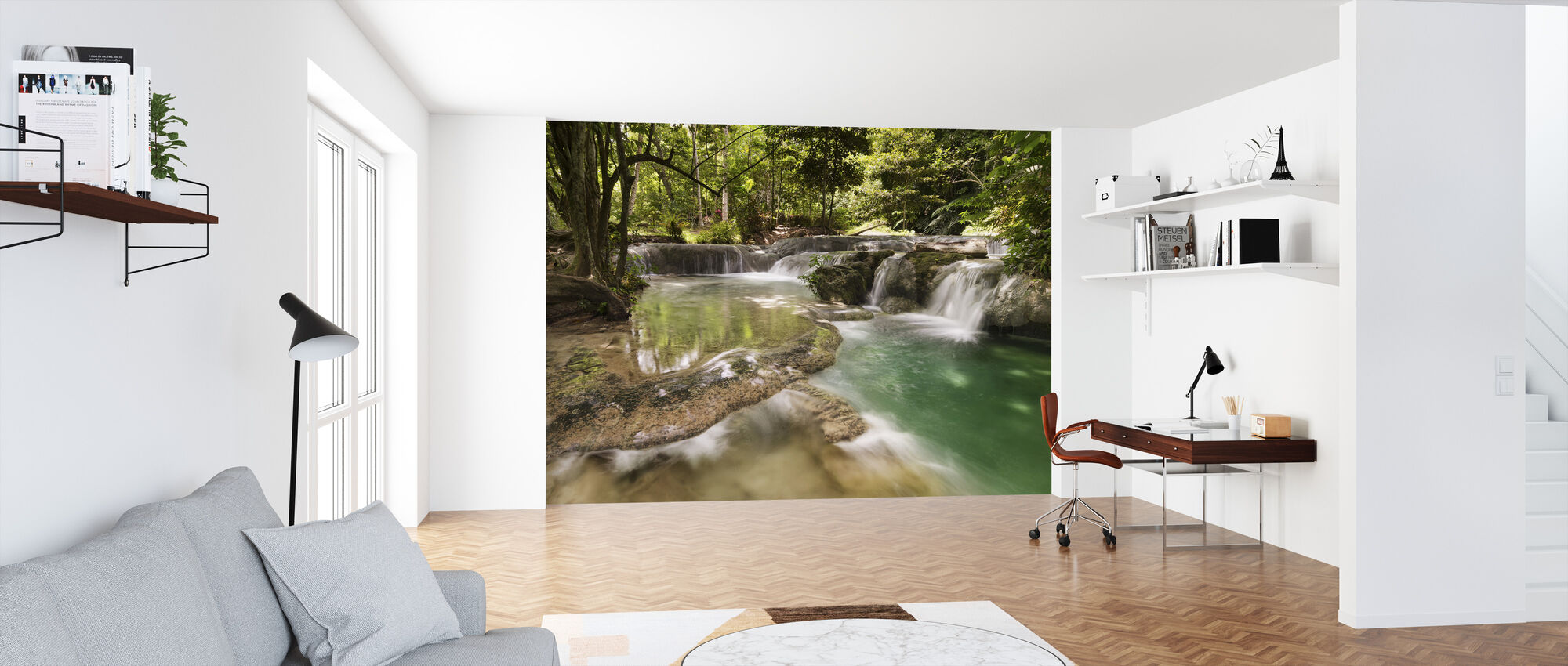 Panas Waterfalls II - Wallpaper - Office