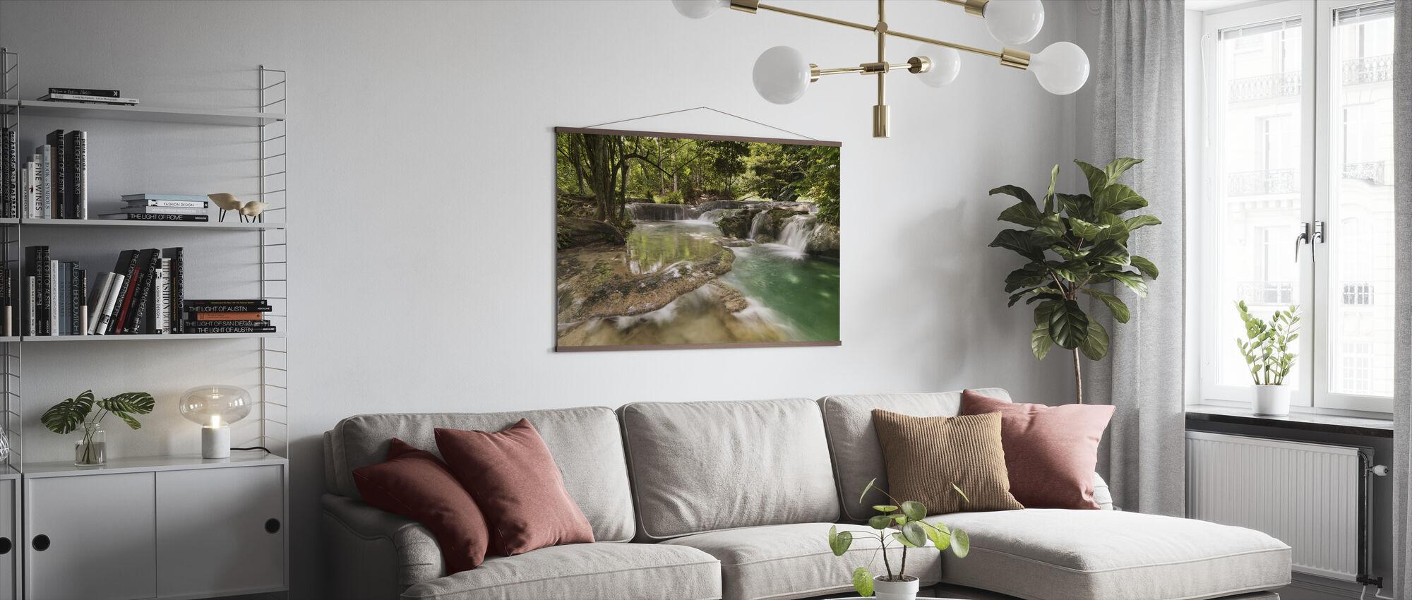 Panas Waterfalls II - Poster - Living Room