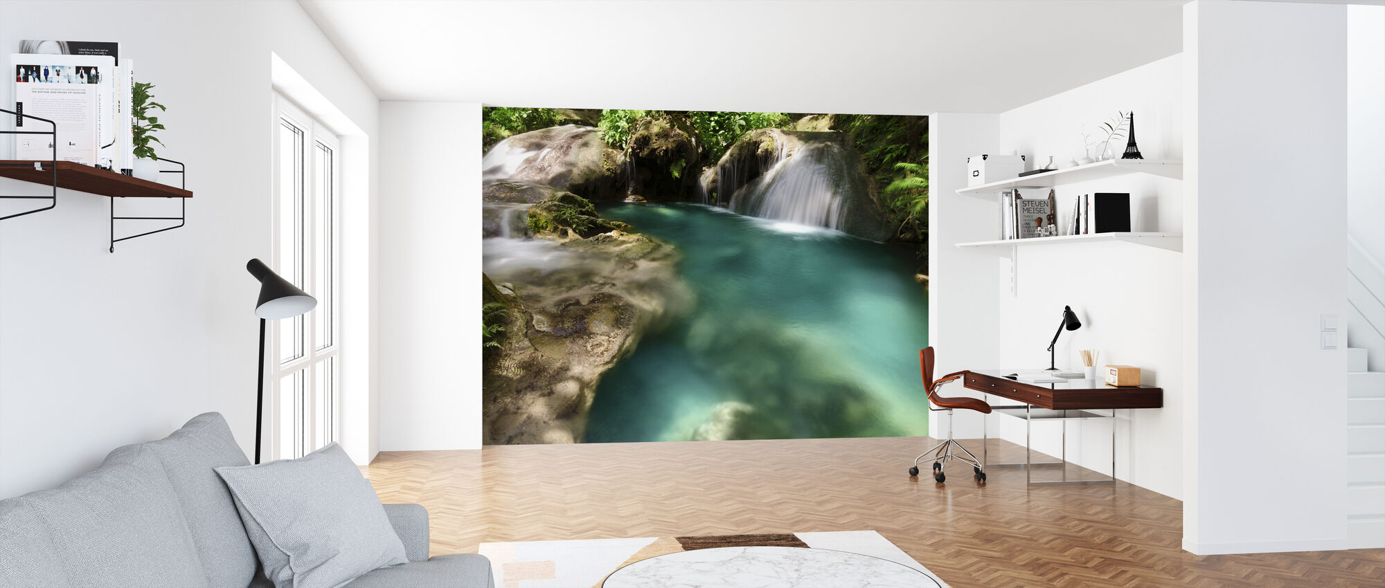 Hagimit Waterfalls - Wallpaper - Office