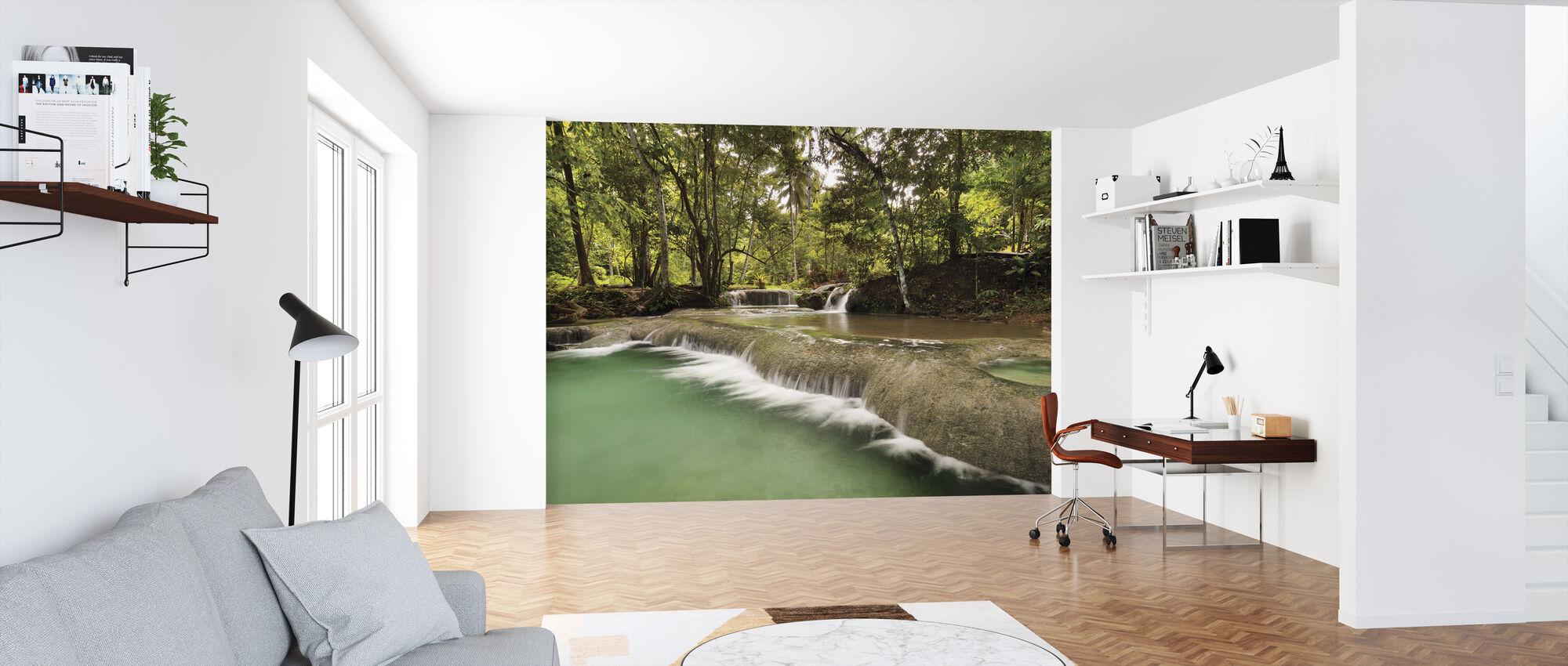 Cataratas Hagimit IV - Papel pintado - Oficina