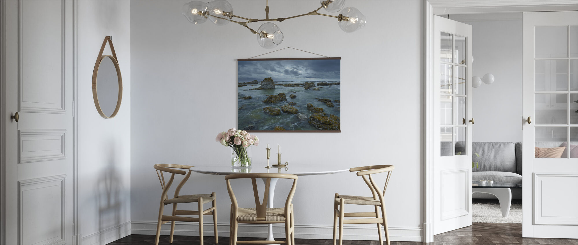 Dramatic Sky over Gotland - Poster - Kitchen