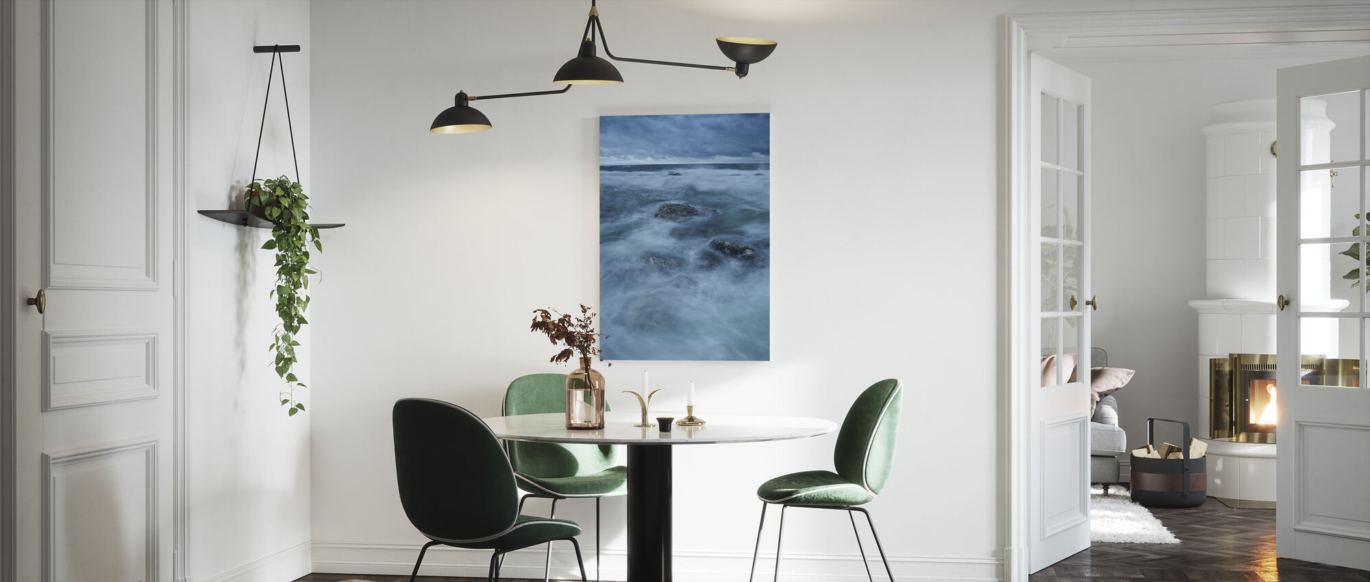 Rocky Coastline of Gotland - Canvas print - Kitchen