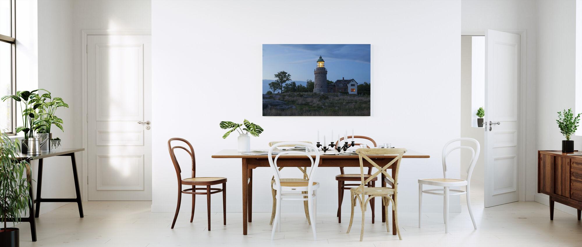Fyr i Bornholm, Danmark - Lerretsbilde - Kjøkken