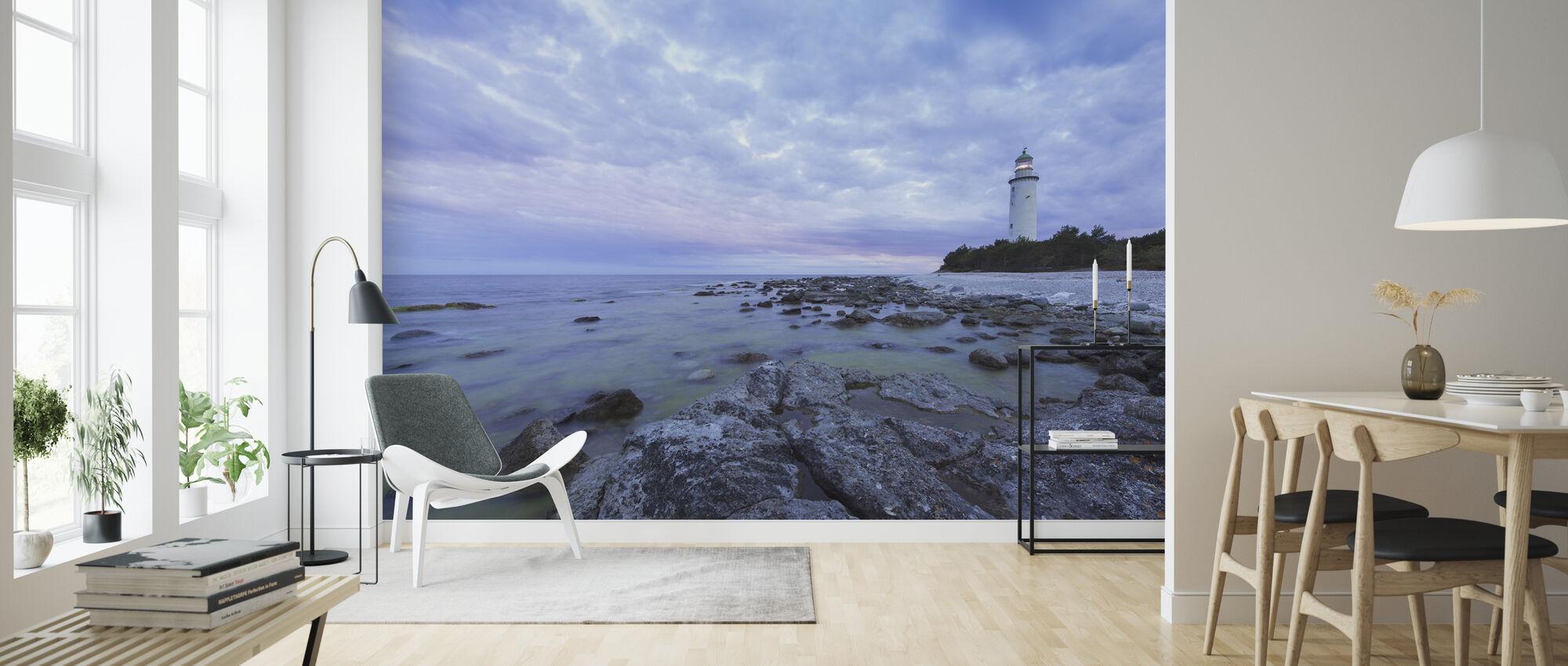 Lighthouse in Fårö, Gotland - Tapetti - Olohuone