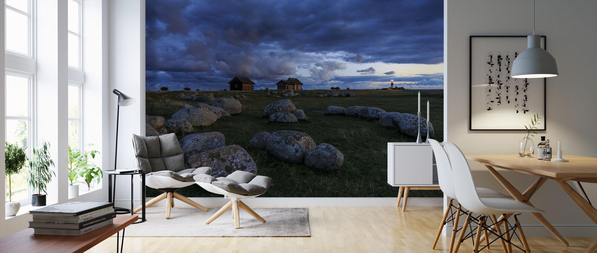 Rocky Field i Öland - Tapet - Stue