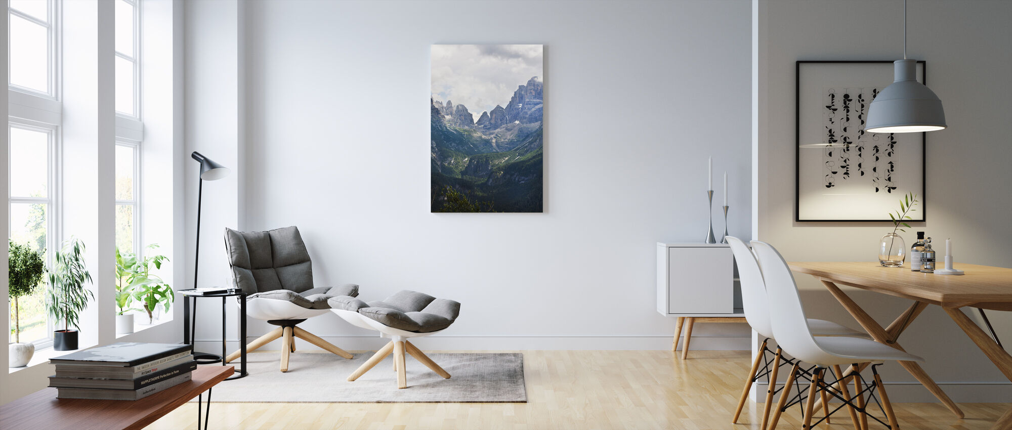 Madonna di Campiglio, Italy, Europe - Canvas print - Living Room