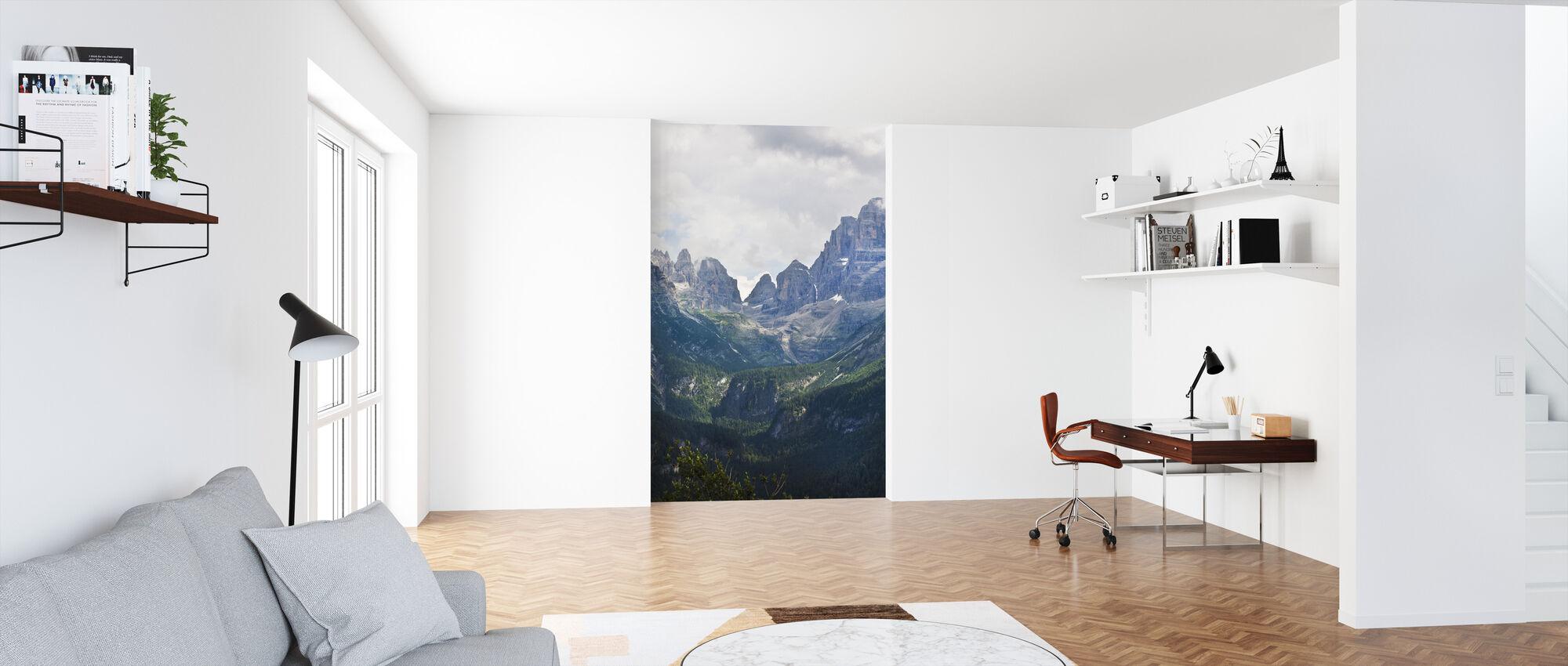 Madonna di Campiglio, Italy, Europe - Wallpaper - Office