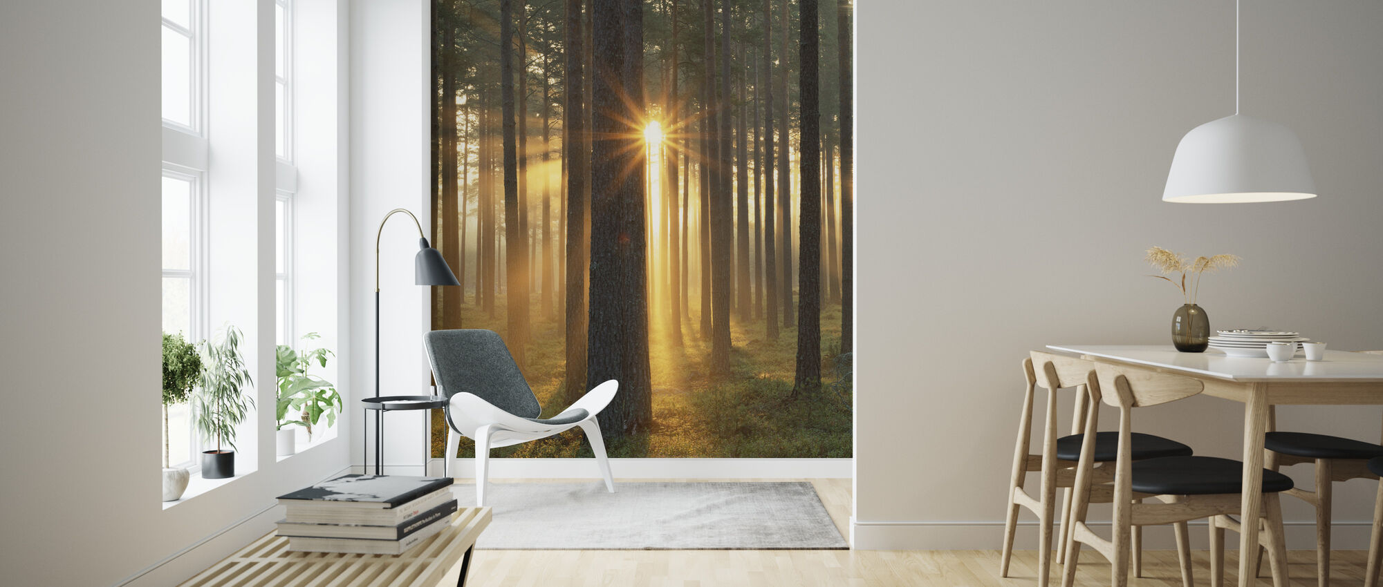 Høst Sunbeam - Tapet - Stue