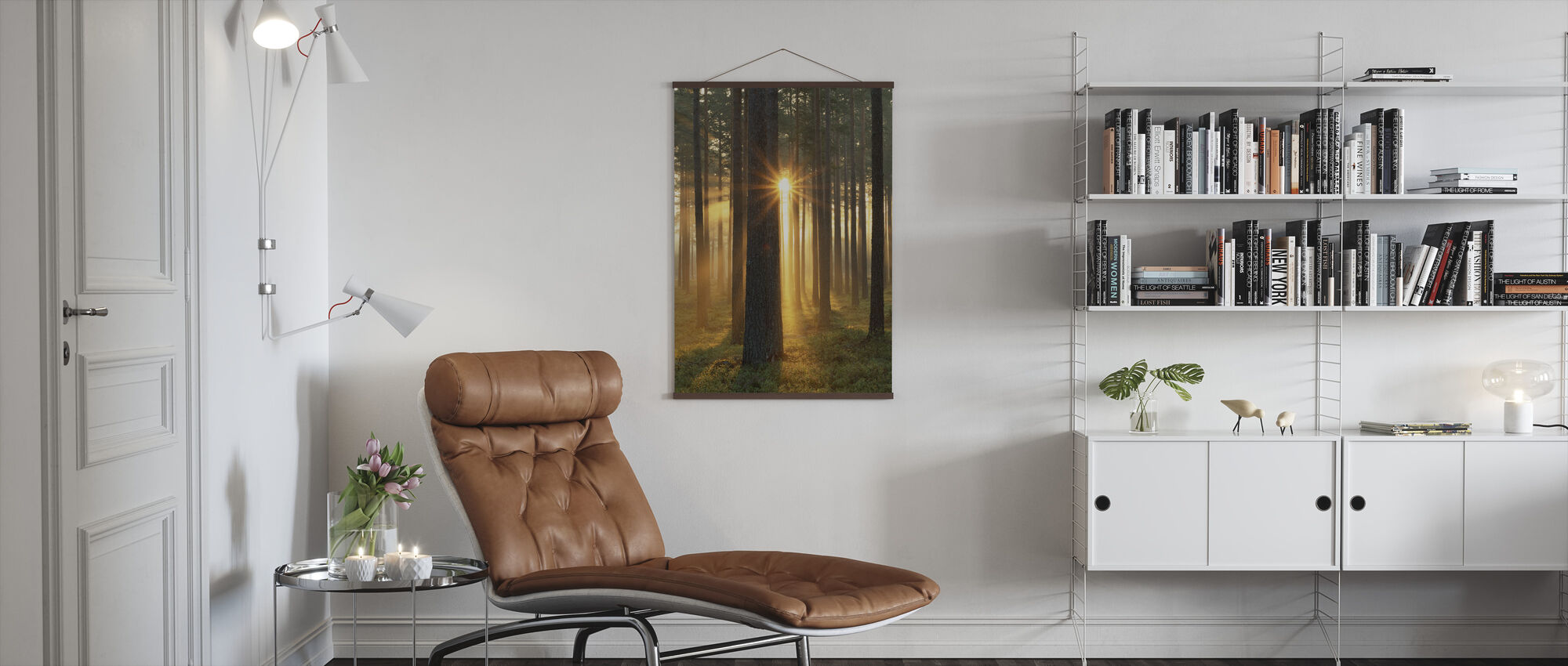 Autumn Sunbeam - Poster - Living Room