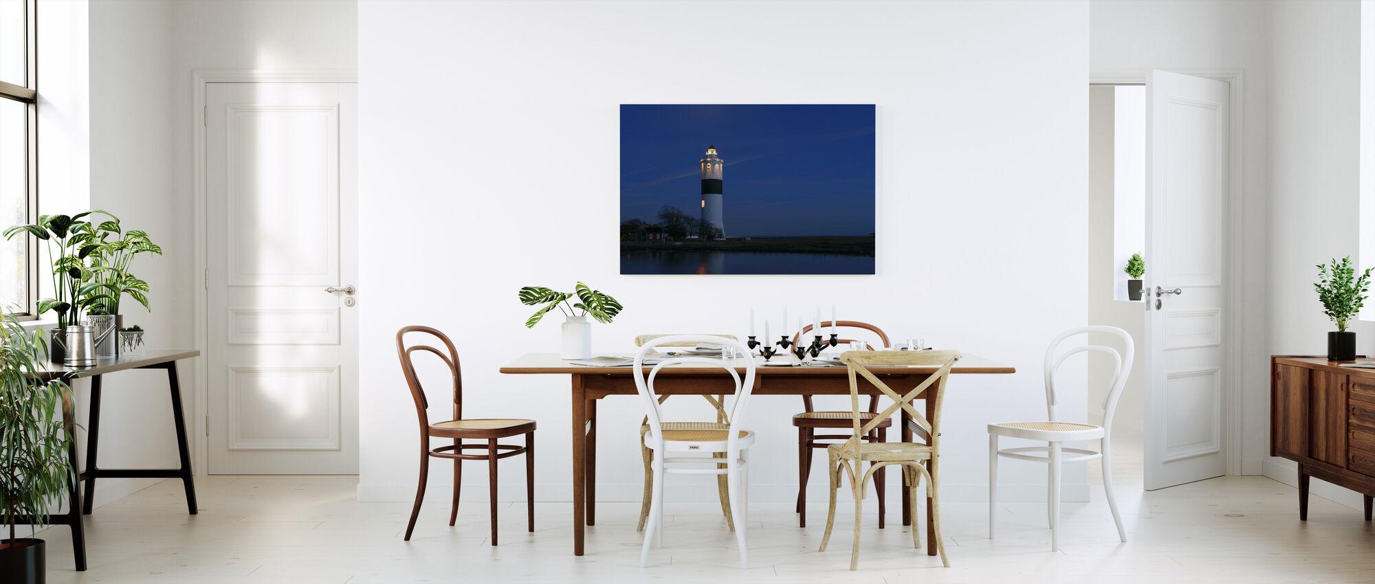 Lighthouse in Öland - Canvas print - Kitchen