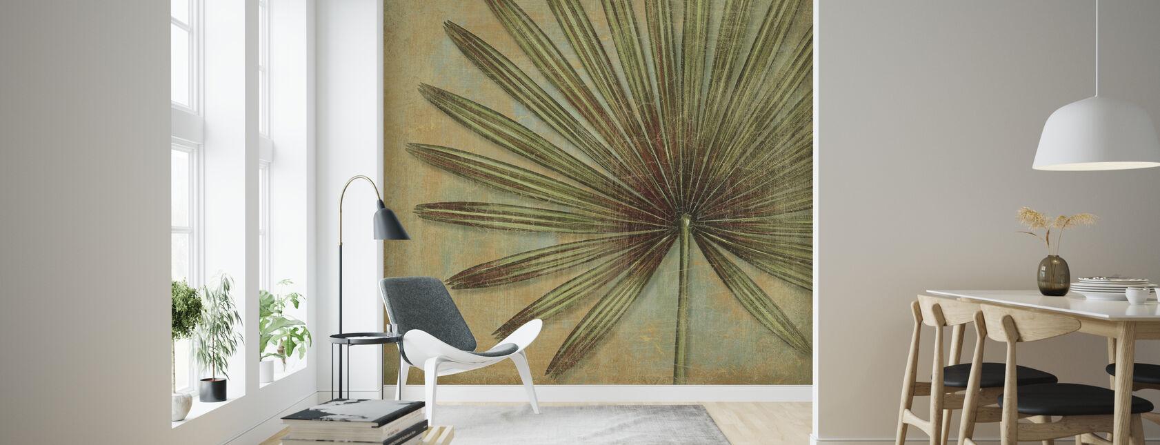 Green Tropic - Wallpaper - Living Room