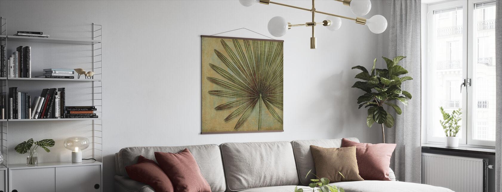 Green Tropic - Poster - Living Room