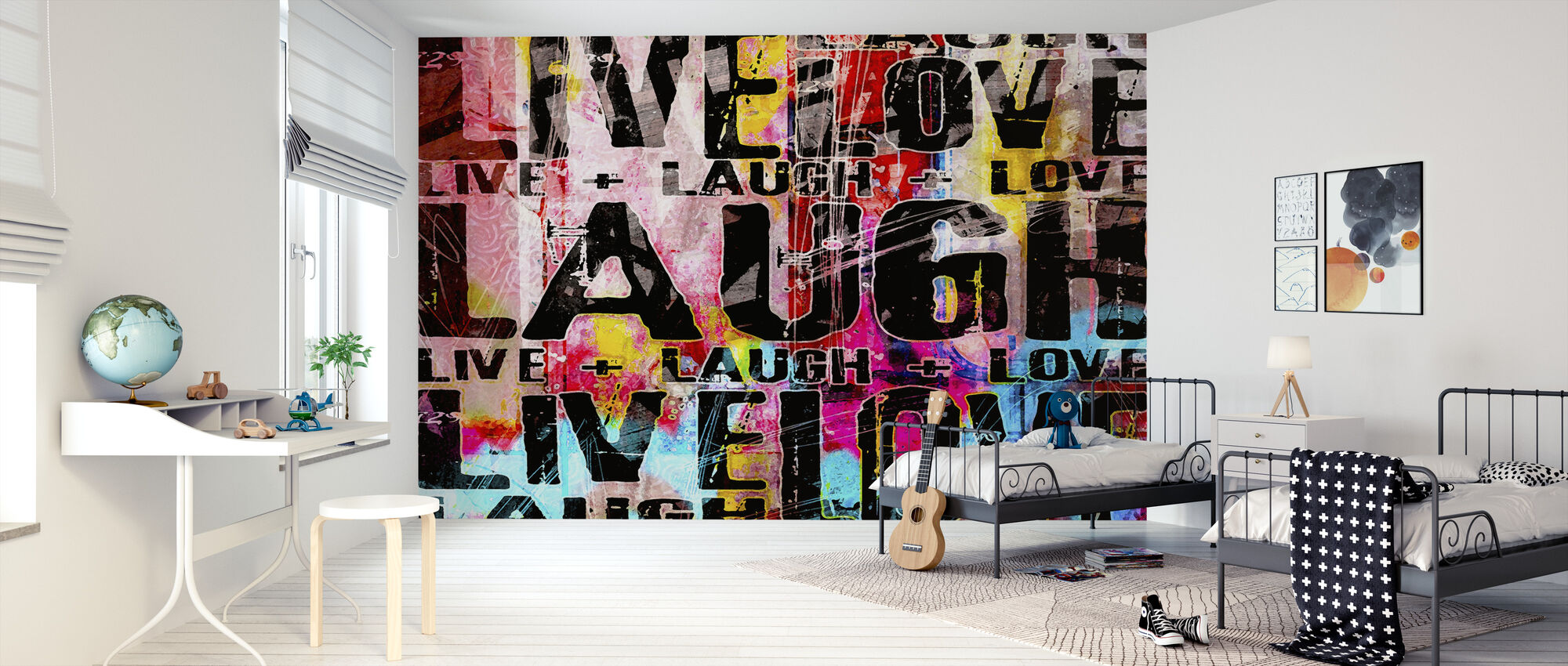 Live Laugh Love - Wallpaper - Kids Room
