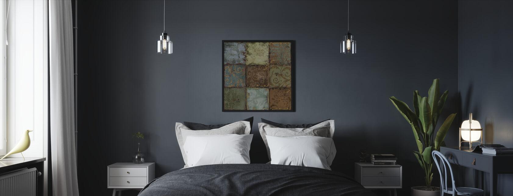 Tapestry Plattor 1 - Inramad tavla - Sovrum