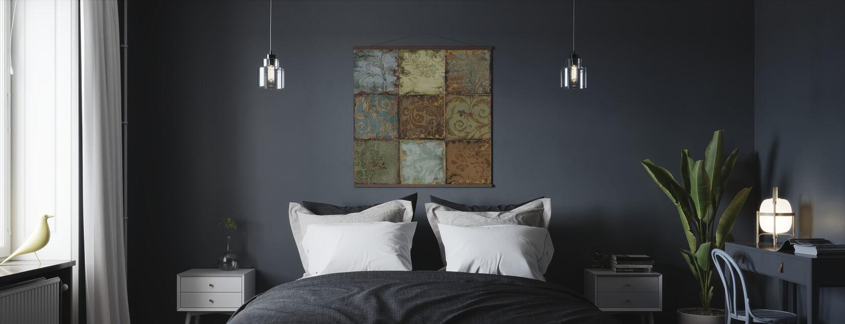 Tapestry Tegels 1 - Poster - Slaapkamer