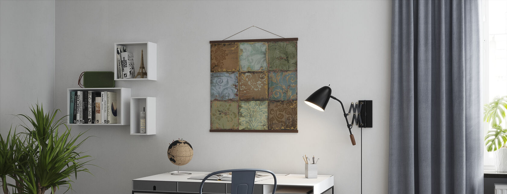 Tapestry Tiles 2 - Poster - Office