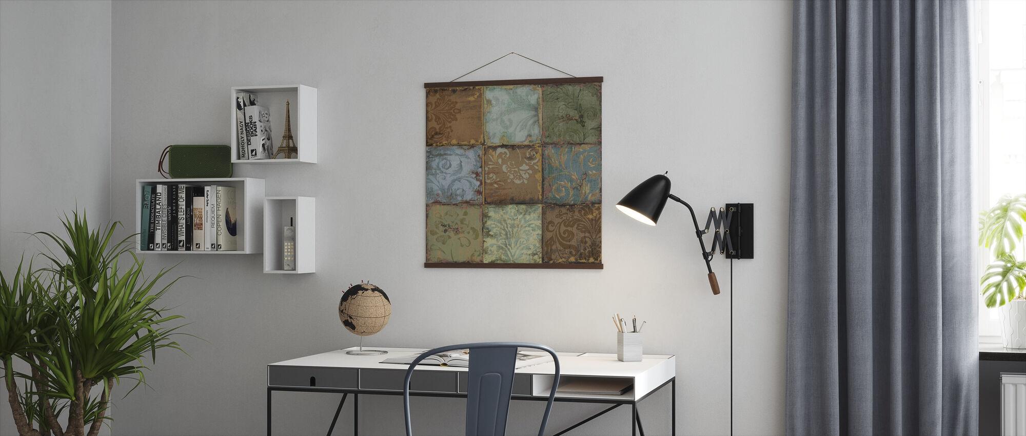 Tapestry Fliser 2 - Plakat - Kontor