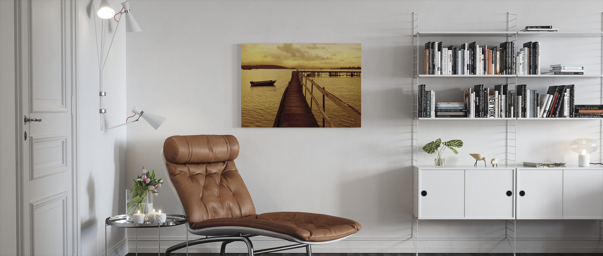 Art Of Waiting - Canvas print - Living Room